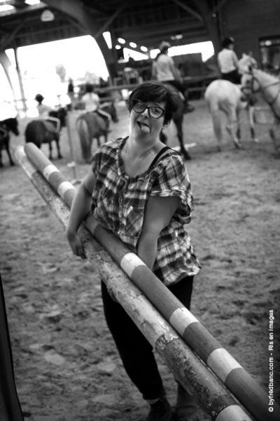 Dans le cadre de Ris en images, un reportage sur les écuries de Trousseau à Ris-Orangis