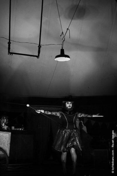 Dans le cadre de Ris en images, un reportage sur le chapiteau d'Adrienne dans la ville de Ris-Orangis
