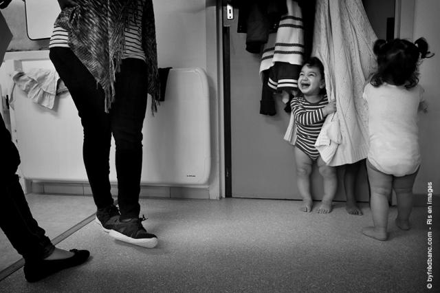 Dans le cadre de Ris en images, un reportage sur les crèches petite enfance de la ville de Ris-orangis