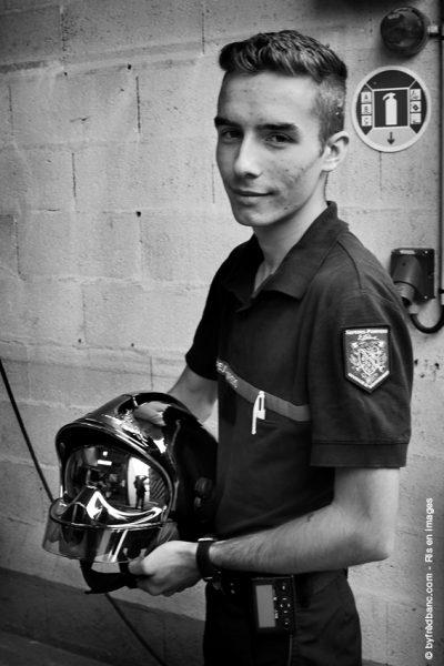 Dans le cadre de Ris en images, un reportage sur les sapeurs pompiers bénévoles de Ris-Orangis